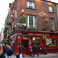 The Temple Bar, Dublin, architecture, city, Ireland