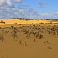 Nambung National Park, Western Australia, Pinnacles Desert