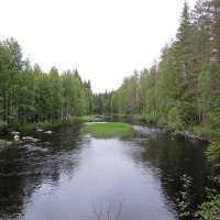 Finnish landscape, nature
