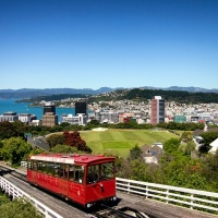 Cable Car,Wellington, New Zealand