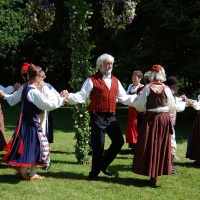 Midsummer dancing