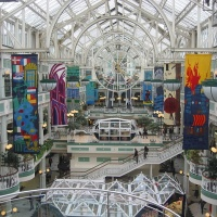 shopping mall, Dublin, Ireland