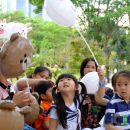 Easter party in Shenzhen (picture by James Wu)