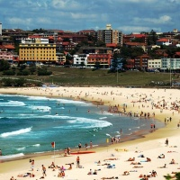 Bondi Beach, Sydney, sea