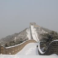 Great Wall in winter